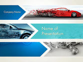 Careers/Industry: Auto-ontwerp-industrie PowerPoint Template #12650