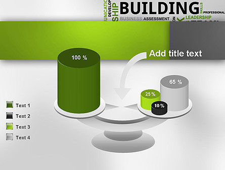 Team Building Word Cloud PowerPoint Template Slide 10