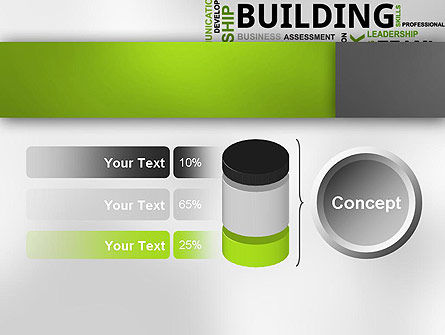 Team Building Word Cloud PowerPoint Template Slide 11