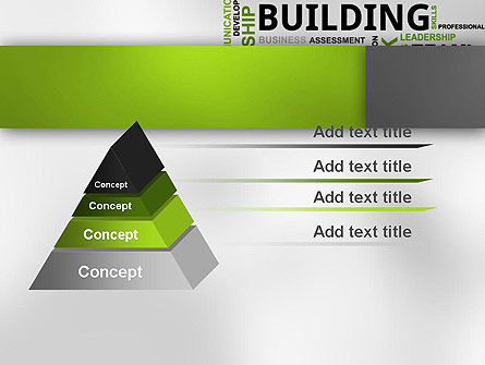 Team Building Word Cloud PowerPoint Template Slide 12