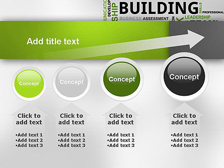 Team Building Word Cloud PowerPoint Template Slide 13