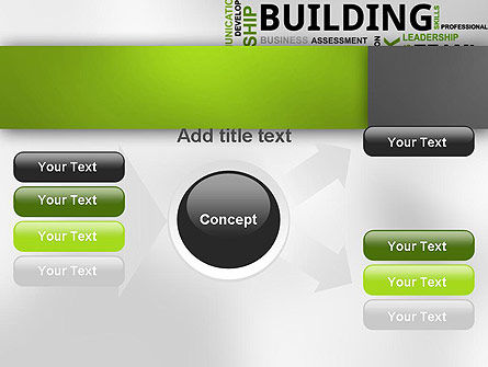 Team Building Word Cloud PowerPoint Template Slide 14