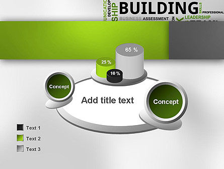 Team Building Word Cloud PowerPoint Template Slide 16