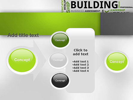 Team Building Word Cloud PowerPoint Template Slide 17