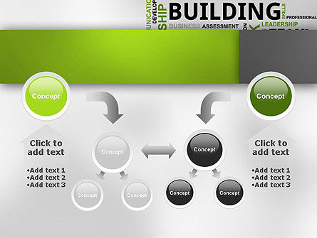 Team Building Word Cloud PowerPoint Template Slide 19