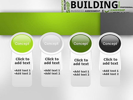 Team Building Word Cloud PowerPoint Template Slide 5