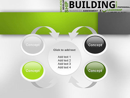 Team Building Word Cloud PowerPoint Template Slide 6