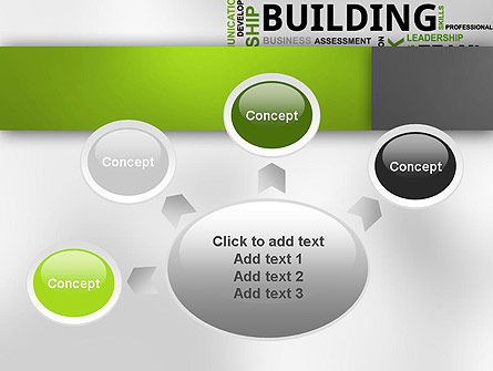 Team Building Word Cloud PowerPoint Template Slide 7