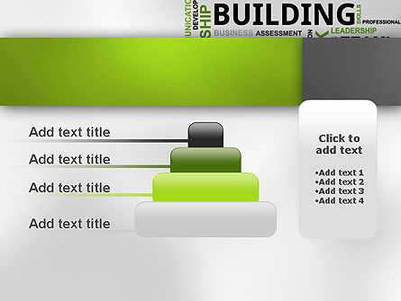 Team Building Word Cloud PowerPoint Template Slide 8
