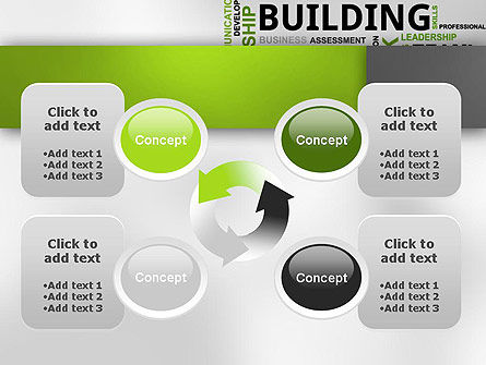 Team Building Word Cloud PowerPoint Template Slide 9