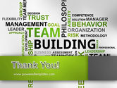 Team Building Word Cloud PowerPoint Template#20