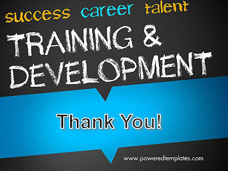Training and Development PowerPoint Template Slide 20