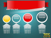 2015 Gold Numbers PowerPoint Template#13