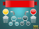 2015 Gold Numbers PowerPoint Template#19