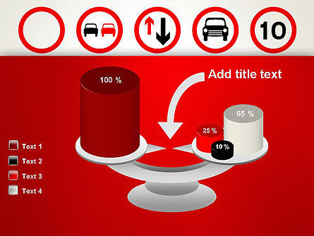 Traffic Signs PowerPoint Template Slide 10