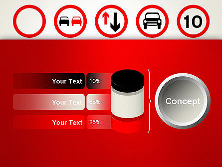 Traffic Signs PowerPoint Template Slide 11
