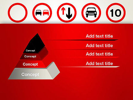 Traffic Signs PowerPoint Template Slide 12