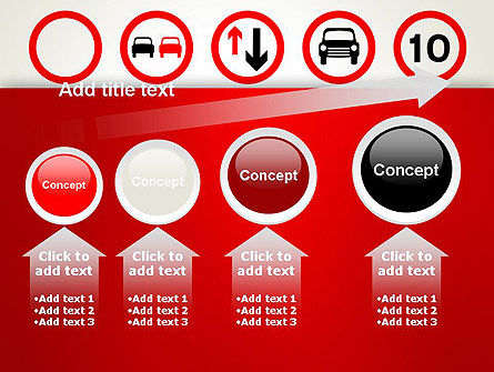Traffic Signs PowerPoint Template Slide 13