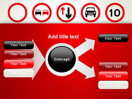 Traffic Signs PowerPoint Template Slide 14