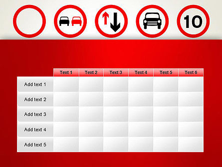 Traffic Signs PowerPoint Template Slide 15