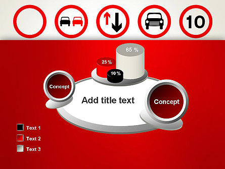 Traffic Signs PowerPoint Template Slide 16