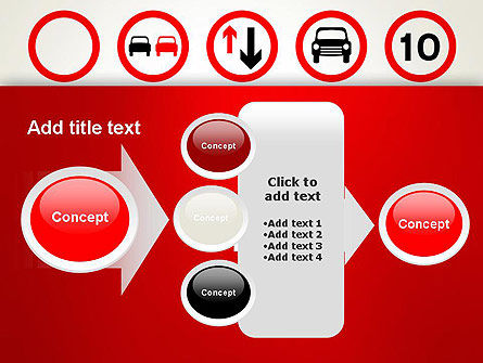 Traffic Signs PowerPoint Template Slide 17