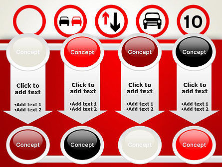 Traffic Signs PowerPoint Template Slide 18