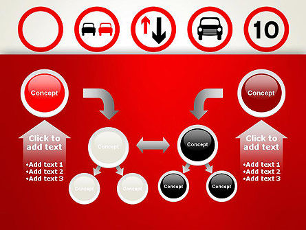 Traffic Signs PowerPoint Template Slide 19