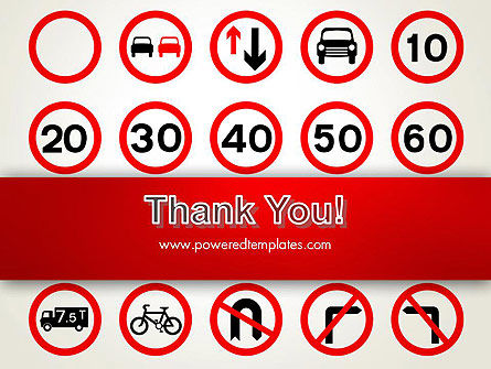 Traffic Signs PowerPoint Template Slide 20