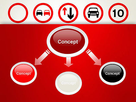 Traffic Signs PowerPoint Template Slide 4