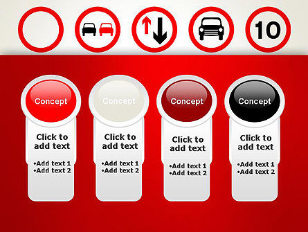 Traffic Signs PowerPoint Template Slide 5