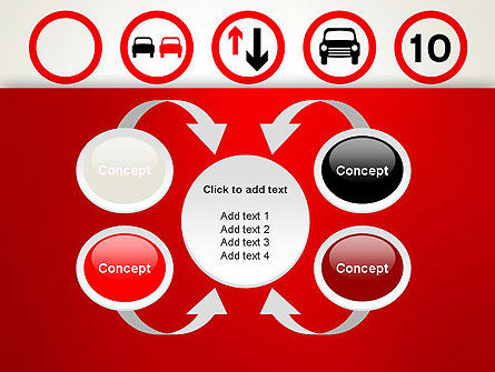 Traffic Signs PowerPoint Template Slide 6