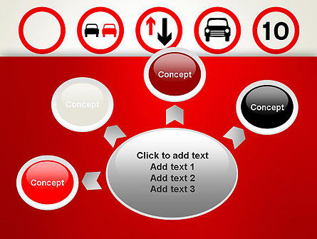 Traffic Signs PowerPoint Template Slide 7