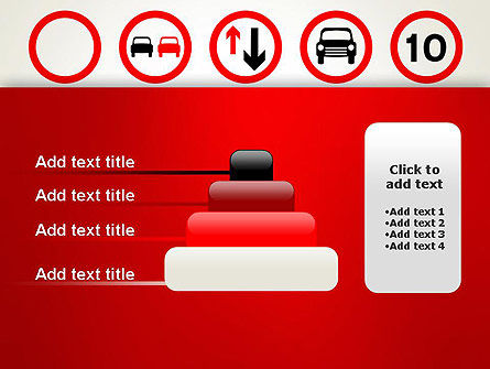 Traffic Signs PowerPoint Template Slide 8