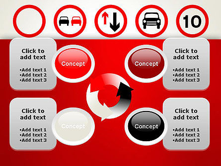 Traffic Signs PowerPoint Template Slide 9
