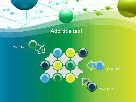 Abstract 3D Bubble Diagram PowerPoint Template Slide 10