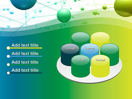 Abstract 3D Bubble Diagram PowerPoint Template Slide 12