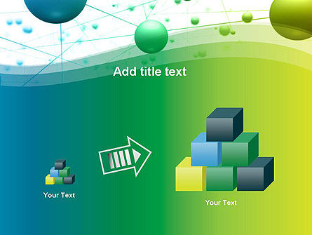 Abstract 3D Bubble Diagram PowerPoint Template Slide 13