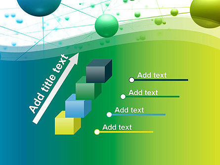 Abstract 3D Bubble Diagram PowerPoint Template Slide 14