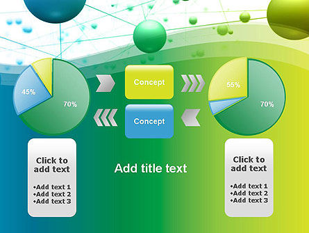 Abstract 3D Bubble Diagram PowerPoint Template Slide 16