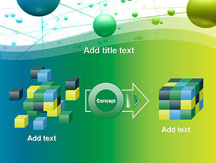 Abstract 3D Bubble Diagram PowerPoint Template Slide 17