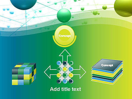 Abstract 3D Bubble Diagram PowerPoint Template Slide 19