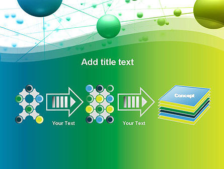 Abstract 3D Bubble Diagram PowerPoint Template Slide 9