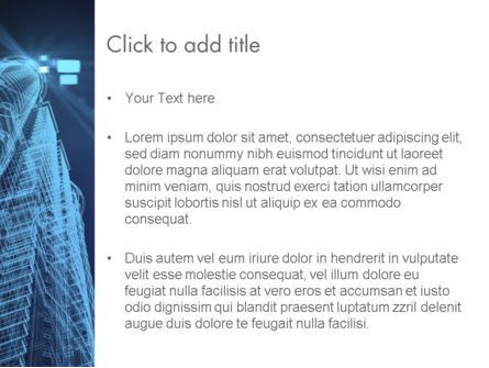 Abstract 3D Architect PowerPoint Template, Slide 3, 12659, Construction — PoweredTemplate.com