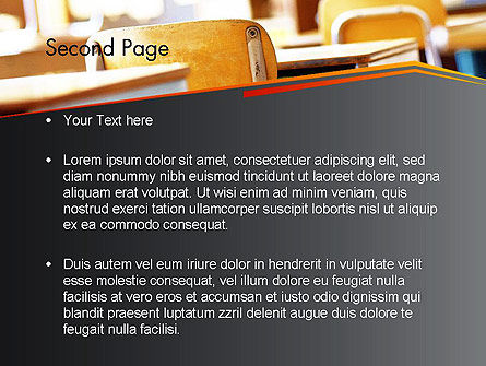 Methodology in Education PowerPoint Template, Slide 2, 12660, Education & Training — PoweredTemplate.com
