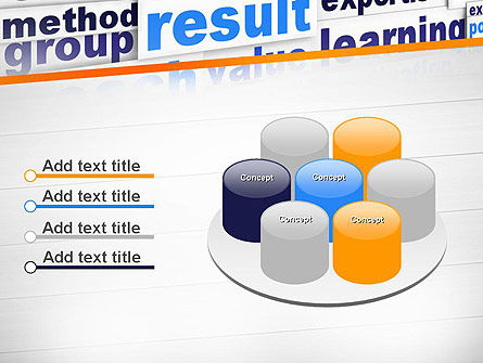 Training and Coaching Word Cloud PowerPoint Template Slide 12