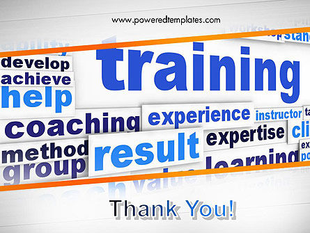 Training and Coaching Word Cloud PowerPoint Template Slide 20