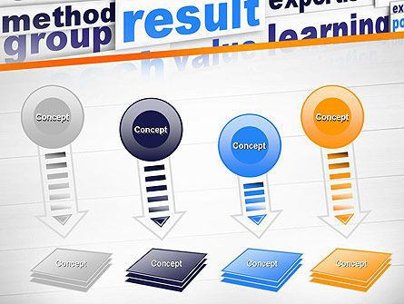 Training and Coaching Word Cloud PowerPoint Template Slide 8