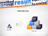 Training and Coaching Word Cloud PowerPoint Template#13