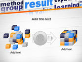 Training and Coaching Word Cloud PowerPoint Template#17